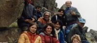 """6. 1992: Reunión y Seminario de Campo, Nacional y Regional: """"Geocriología y Paleoclima Norpatagónico""""."""